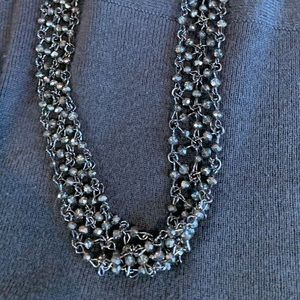 Micheal Kors long beaded necklace